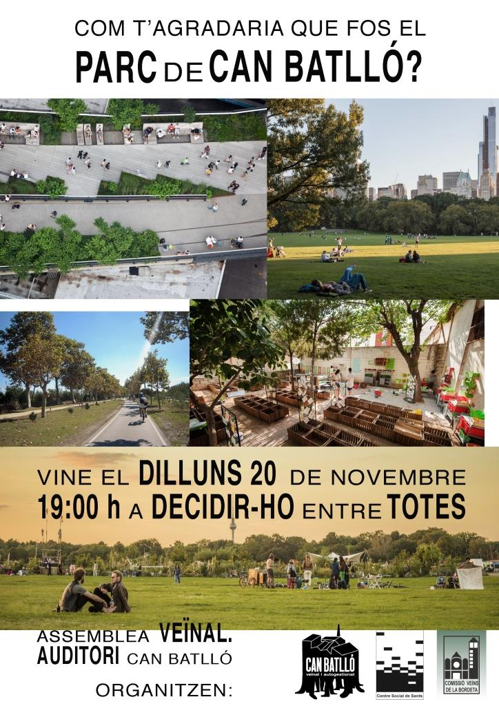 20171120 Assemblea Parc Can Batlló